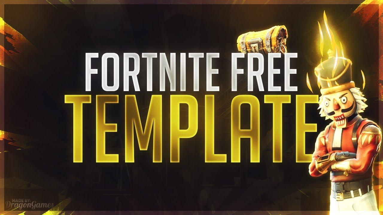 Fortnite Thumbnail Template Photoshop | Fortnite Cheat