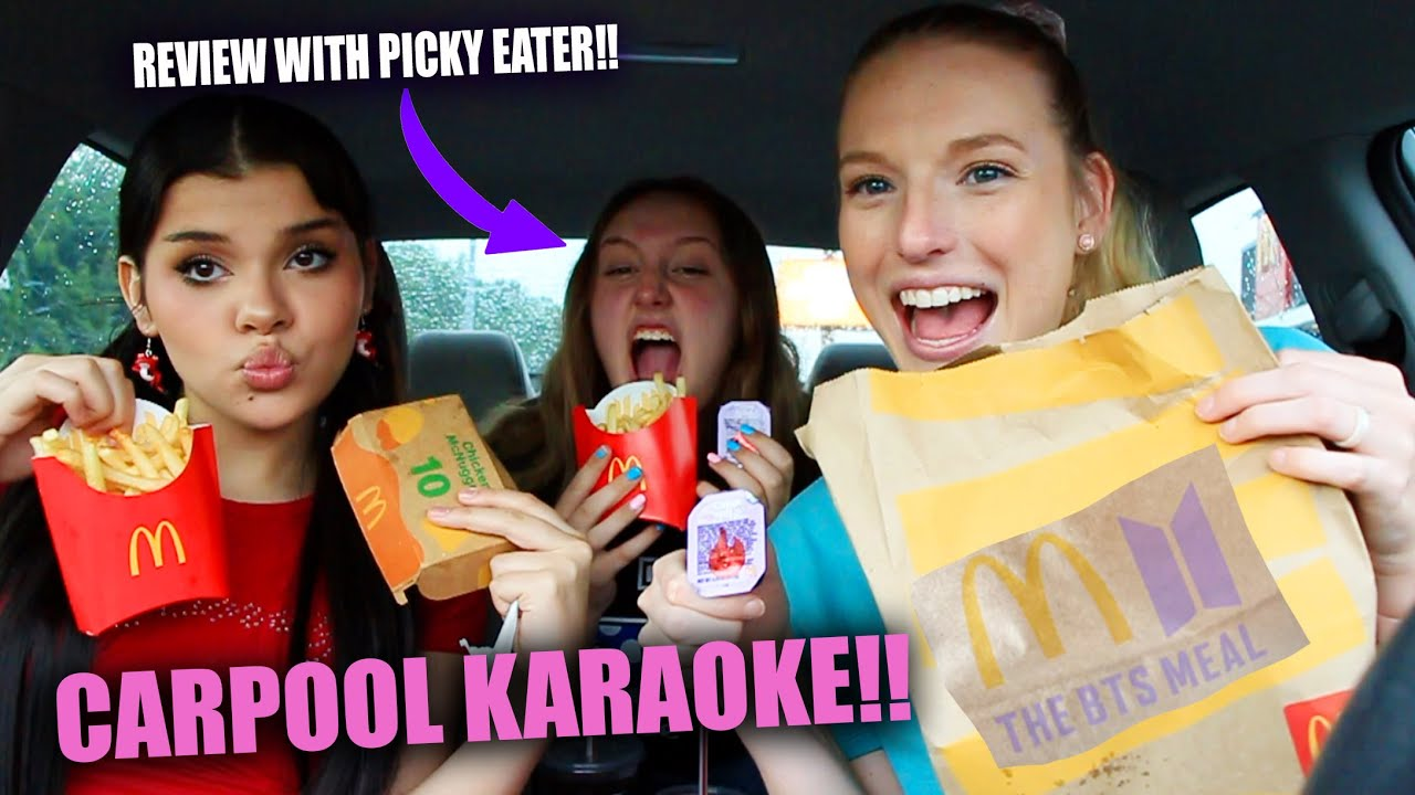 The BTS (방탄소년단) Meal Reaction | Carpool Karaoke