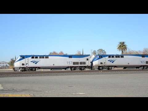 Amtrak Roseville California December 7th 2017