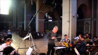 Recording With The English Chamber Orchestra
