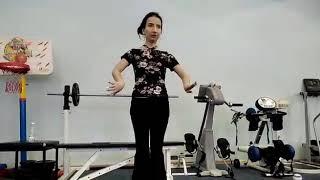 Видео урок Китайский танец, разминка  вращение кистей