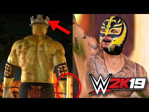 WWE 2K19 Gameplay! ZOMBIE MODE, House Of Horrors Match, Rey Mysterio Entrance & More!