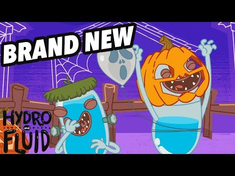 HYDRO and FLUID | Halloween | NEW EPISODE | Funny Cartoons for Children
