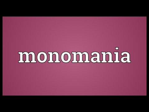 Header of monomania