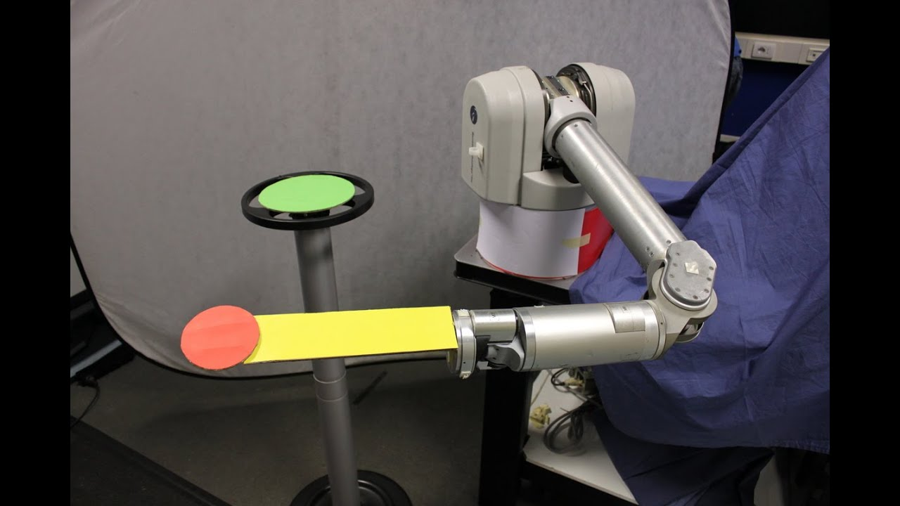 Kinematic-free Position Control of a 2-DOF Planar Robot Arm