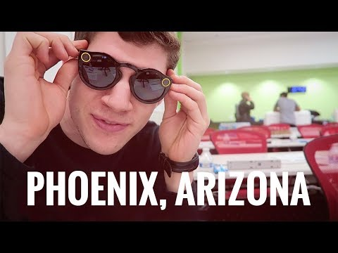Edinburgh to Phoenix, Arizona [USA Trip 1/3]