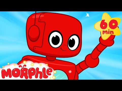 Robot adventures with Morphle ( +1 hour My Magic Pet Morphle kids videos compilation)