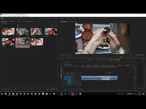 How to edit video clips using Adobe Premiere CC 2019 basic skill