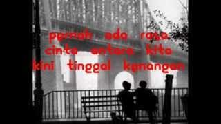 saleem   tinggal kenangan lirik