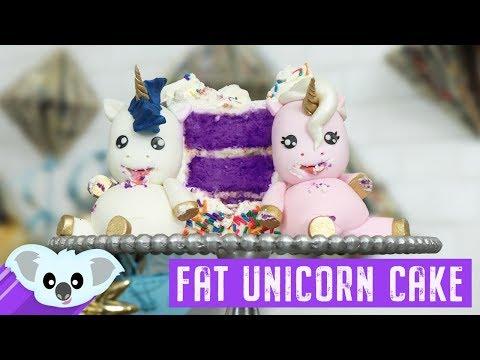 Fat Unicorn Cake | Koalipops | How To