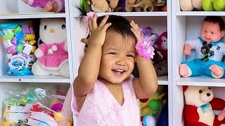 Baby Nora Playing with Baby Dress Set Toys