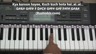 Kuch Kuch Hota Hai (Piano Tutorials) | 7013658813 - PDF NOTES/BOOK - WHATS APP US