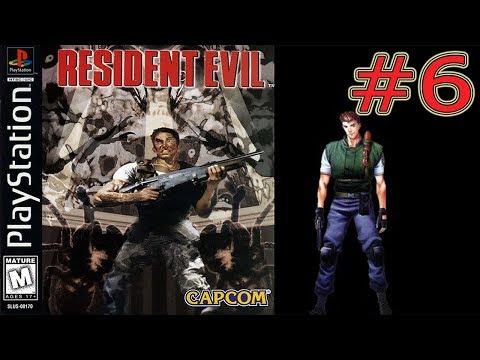 Resident Evil PS1 Прохождение за Криса #6 Босс Растения 42