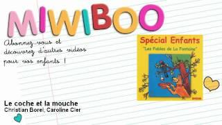 Les Fables de La Fontaine - Le coche et la mouche - Miwiboo