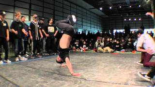 FOUNDNATION vs HighKing Posse BEST16 CREW BATTLE / UK B-BOY CHAMPIONSHIPS JAPAN FINAL 2016