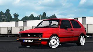 [ETS2 v1.37] Volkswagen Golf | GTİ MK2