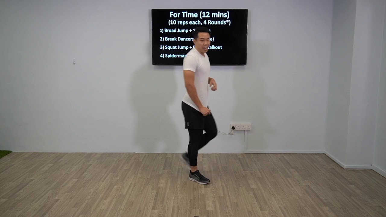 Cardio HIIT with Coach Faridie