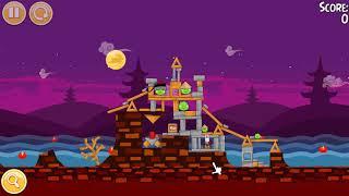 """🐦🐖 Angry Birds Seasons. Эпизод """"Лунный фестиваль"""" (""""Moon Festival""""). Прохождение."""
