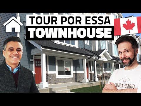 CASA Townhouse dos sonhos NOVA e BARATA no Canadá - Quanto custa essa casa no Canadá?