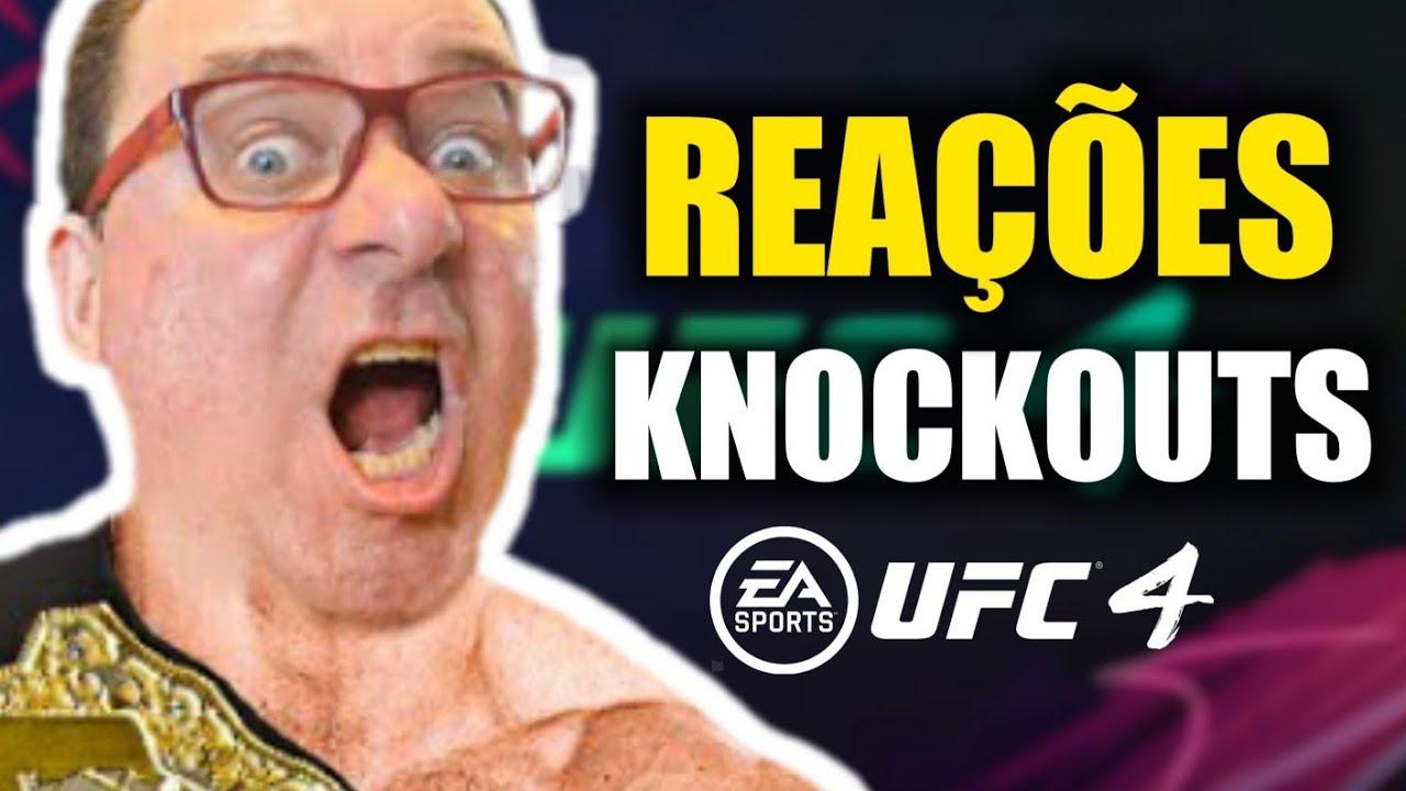 REAÇÕES DO RICFAZERES AO DAR KNOCKOUTS NO UFC4