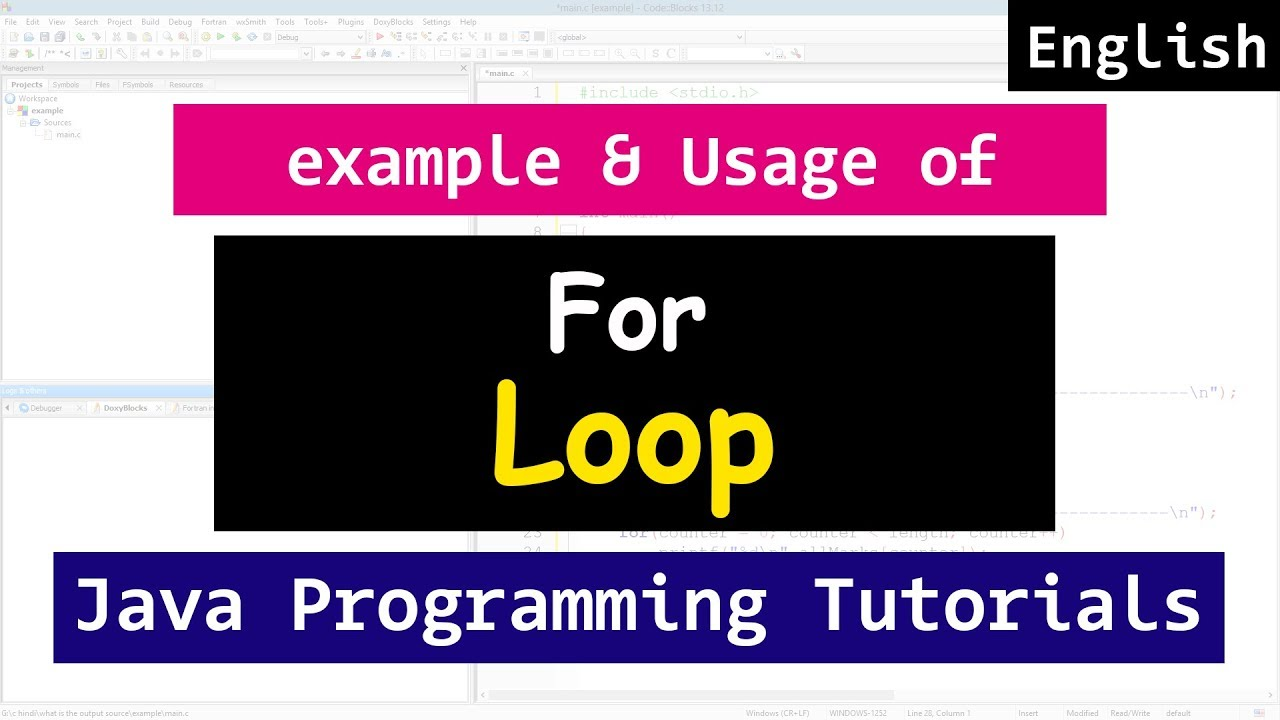 Java beginners tutorial with examples image collections any java loop tutorial gallery any tutorial examples for loop with example in java programming video tutorials baditri Images