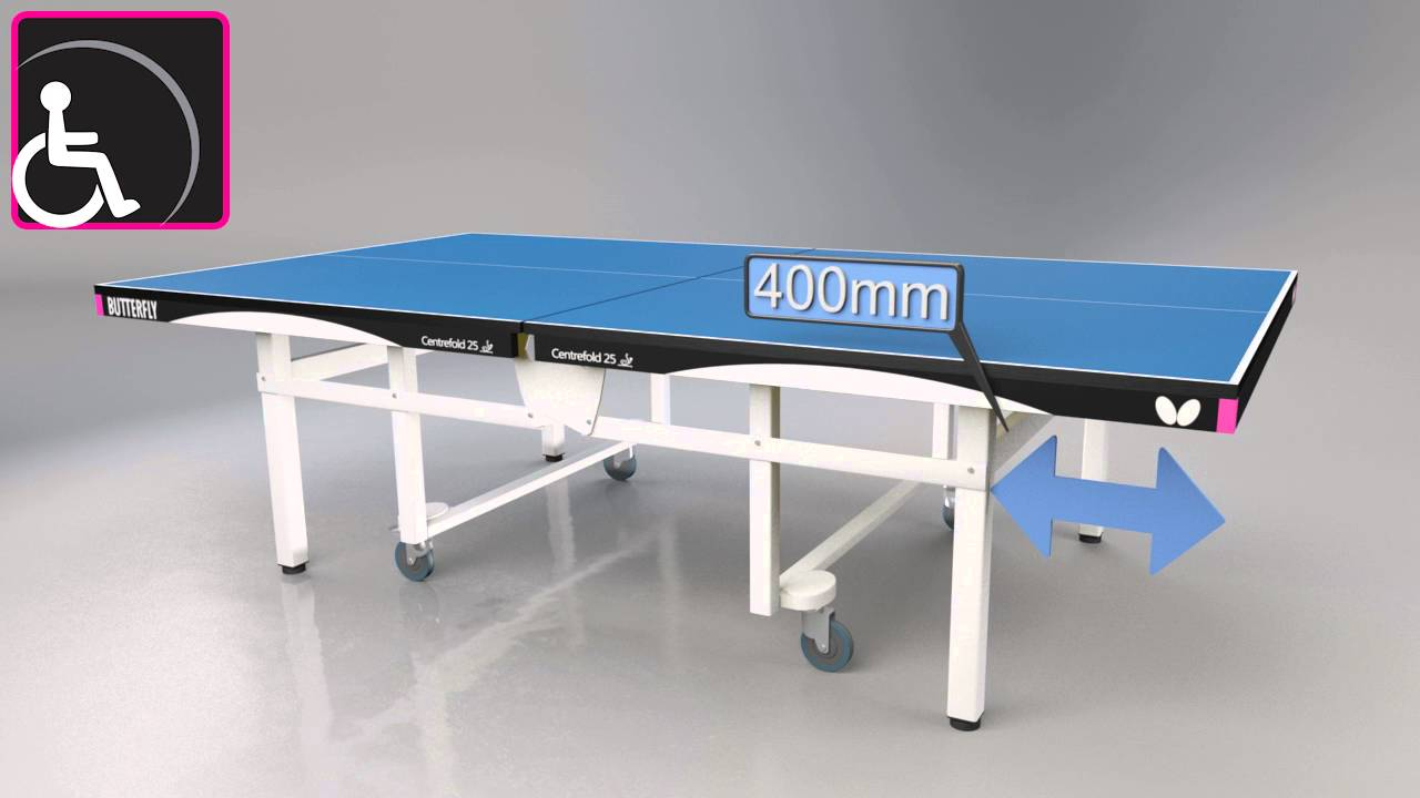 Butterfly Mini Tavolo da Ping Pong