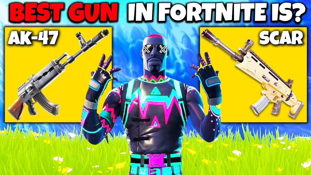 10 Best Guns In Fortnite Season 7 Youtube