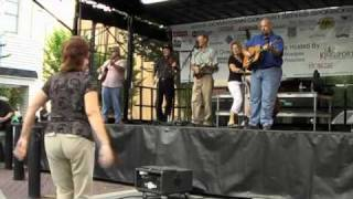 "Appalachian Trail at Bluegrass On Broad- Traditional Fiddle Music ""Sally Goodin"""