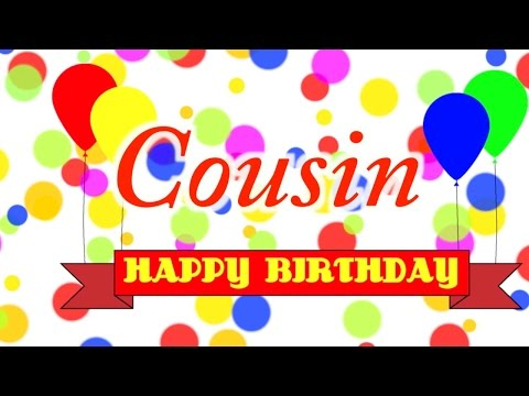 Happy Birthday Cousin In German Youtube