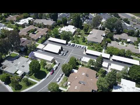 Drone view of Laguna Woods Village, Laguna Hills, & Aliso Viejo