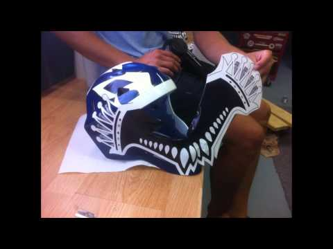 How To Custom Paint Your Hockey Goalie Mask