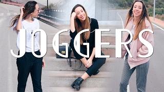 Cómo Combinar Joggers 4 Outfits Laura Muñoz Youtube
