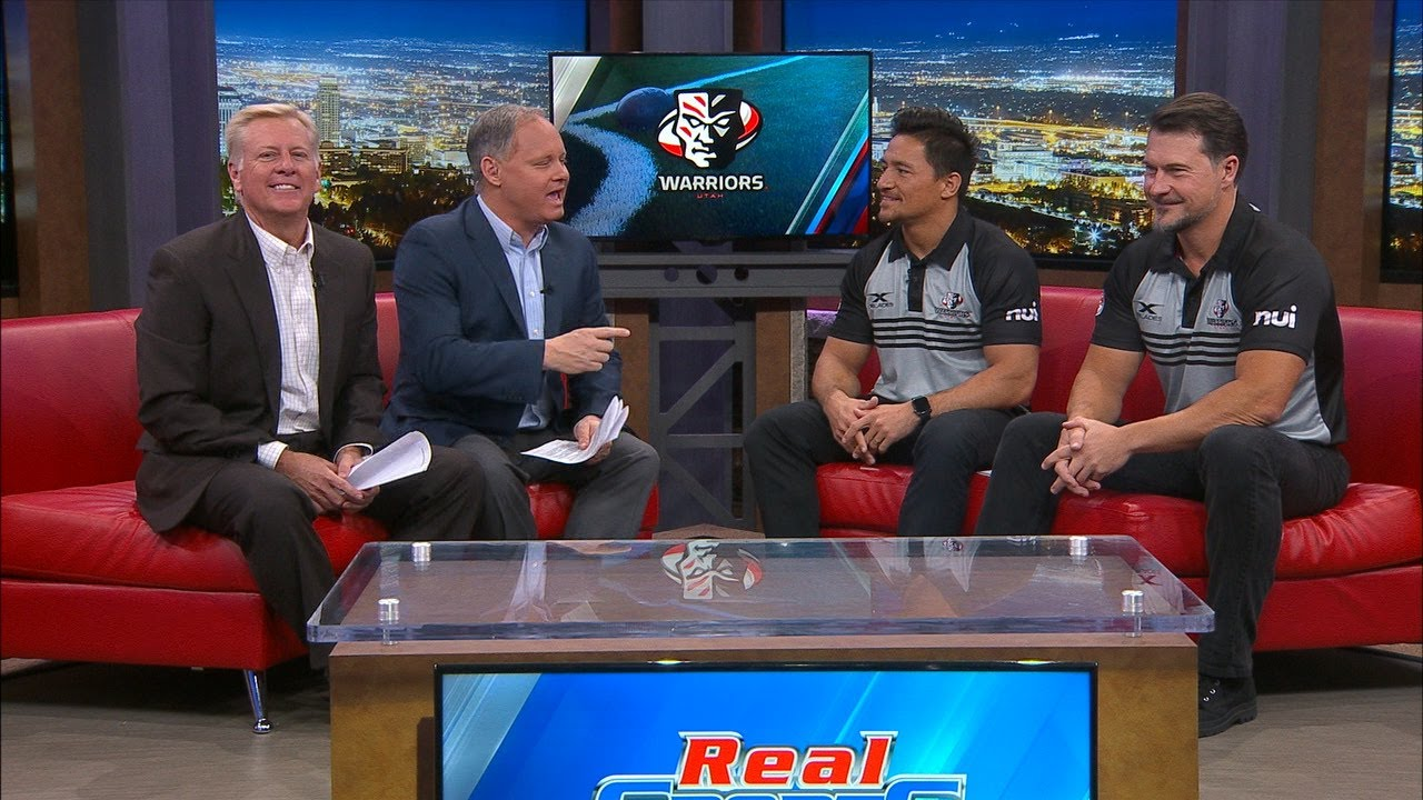 Utah Warriors join Real Sports Live