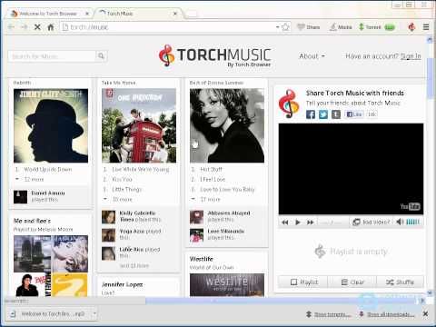 Torch by Torch Media Inc. - a first look - YouTube