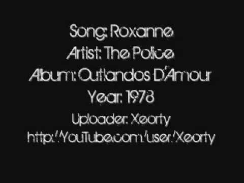 The Police - Roxanne ~ Lyrics