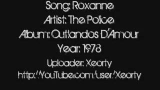 The Police - Roxanne ~ Lyrics