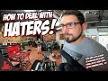 How To Deal With HATERS on YouTube! 😡