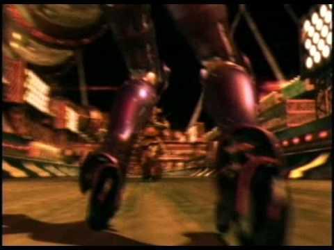 Gunnm Motorball CGI Animation