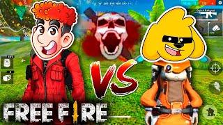 ASÍ JUEGA UN HEROICO 😱🔥 FREE FIRE con DONATO Y MIKECRACK por PRIMERA VEZ ⚡ [Free Fire x LCDP]