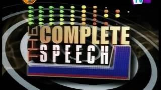 Complete Speech - 13th October 2016
