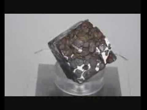 Meteorite - Brahin. Belarus. Pallasite. Weight = 550,0 gram