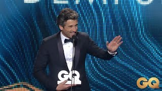 Patrick Dempsey GQ Men of the Year Awards 2018 acceptance speech