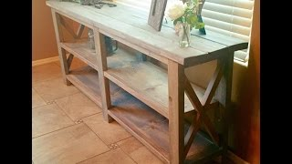 Farm style Console table or sofa / entry - whatever you want it to be!
