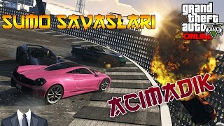 GTA V Sumo Savaşları / Acımadık ! /w Youtubers