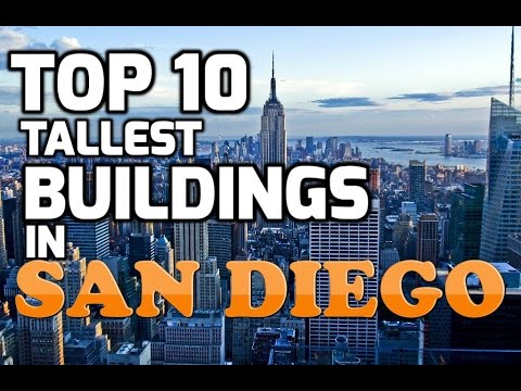Top 10 Tallest buildings of SAN DIEGO