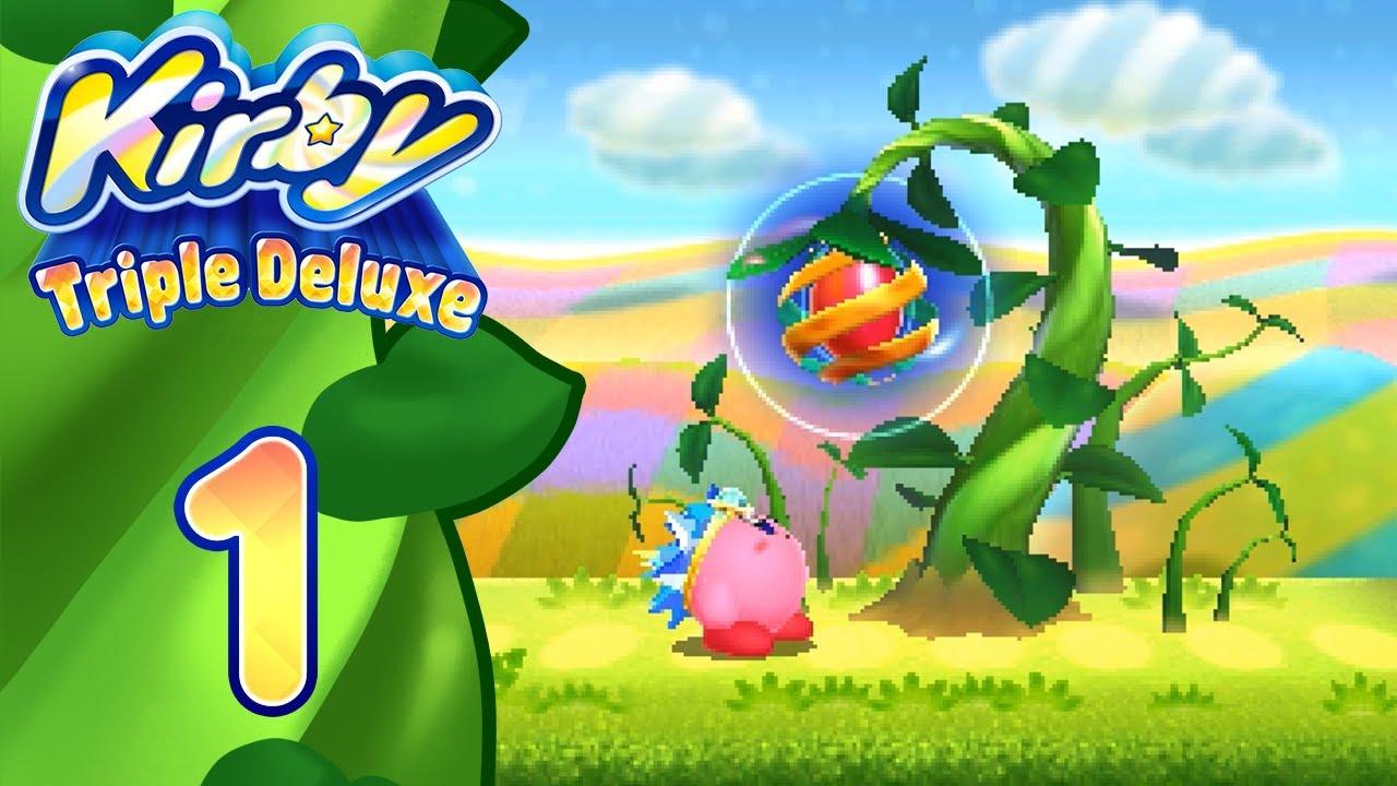 Download Kirby Triple Deluxe Re ITA [Parte 1 - Foreste Fiorite]