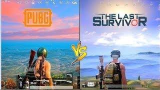 PUBG 0.8 VS THE LAST SURVIVOR | Comparisons | 2018