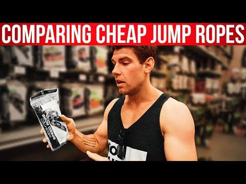 Comparing Cheap Jump Ropes (At Dick's Sporting Goods)