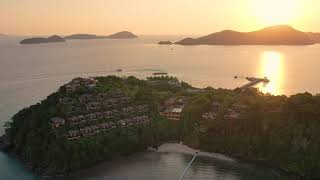 Sri panwa Phuket from Bird's Eye View