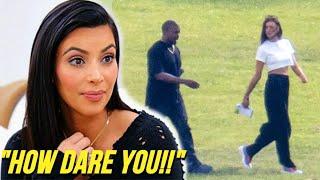 Kim Kardashian Finally REACTS On Kanye West Dating Irina Shayk
